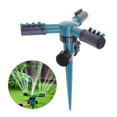 360°drehbarer Rasensprenger Automatischer Wassersprinkler RasensprühanYLW
