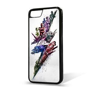super popular b2e74 99956 Details about Power Rangers Phone Case Cover, Fits iPhone 4/4s 5/5s, 5c SE,  6, 6plus, 7, 7plus