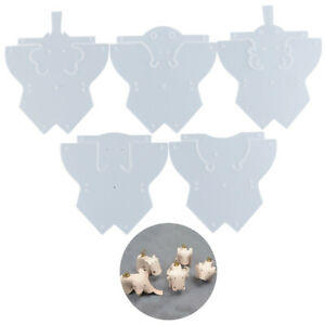 5-Stueck-PVC-Leder-Vorlage-Tier-DIY-Schnittmuster-Schablone-Handwerk-machen-SWQ