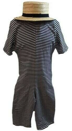 Mary Poppins Returns Book Day Boys-Gents VICTORIAN STRIPED BATHING SUIT Costume