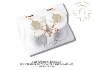 Yale-bobina-ricambio-serratura-elettrica-art-680-mano-dx-12-V-067010001