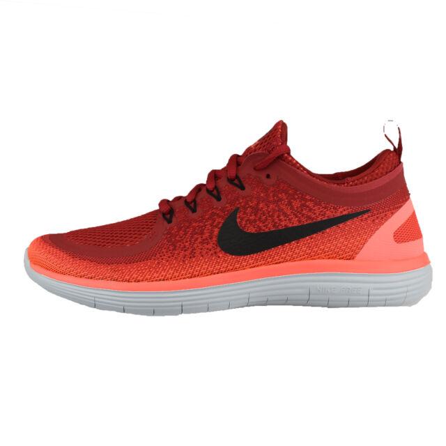 8a4562e9e3e Nike RN Distance 2 Run Red Black Men Running Shoes SNEAKERS 863775 ...