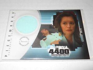The 4400 Season 2 Costume Trading Card #PW-5 Samantha Ferris as Nina