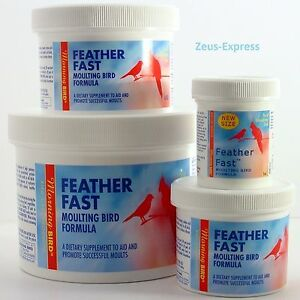 Bird Dietary Feather Fast Moulting Formula Vitamins amino Acids Minerals Avian