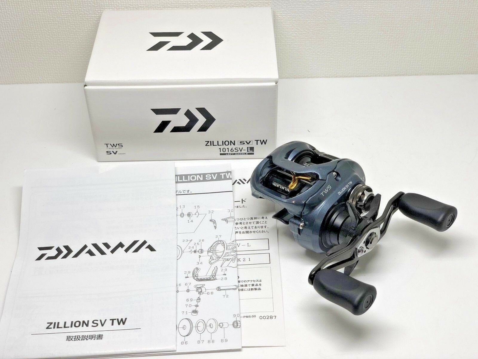 DAIWA 16 ZILLION SV TW 1016SV-L   - Free Shipping from Japan
