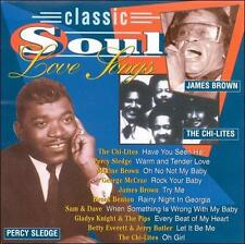 FREE US SHIP. on ANY 2 CDs! NEW CD Various Artists: Classic Soul Love Songs
