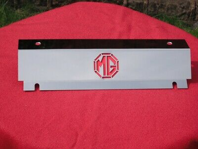 MG Midget 1500 Stainless Steel Radiator top cowl cover laser cut MG motif