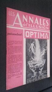 Las Anales ILUSIÓN N º 19 París 1947 ABE