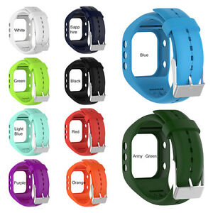 For-Polar-A300-Watch-Replacement-Watchband-Wrist-Band-Strap-Silicone-W-Buckle-H