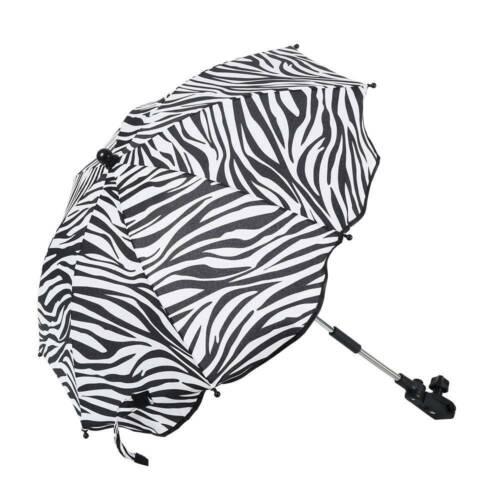 Sun Umbrella Parasol Kids Baby Buggy Pushchair Pram Stroller Shade Canopy Cover