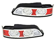 ACURA RSX INTEGRA DC5 05 06 LED CHROME REAR TAIL LIGHTS