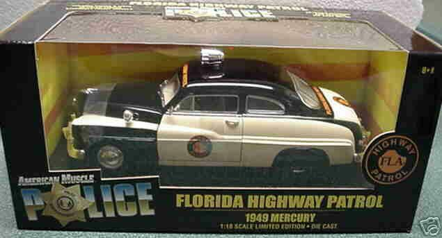 1949 quecksilber florida polizei 1,18 ertl amerikanische power 32818