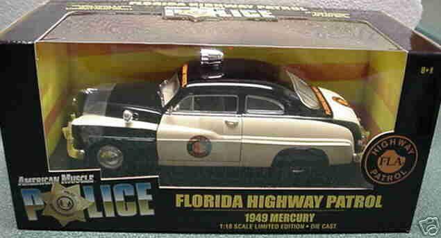 1949 Mercury Florida Police 1 18 Ertl American Muscle 32818