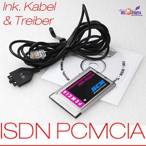 SCM-PC-CARD-PCMCIA-ISDN-FAX-MODEM-KARTE-FUR-NOTEBOOK-KABEL-TREIBER-730-0020-03