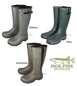 Jack-Pyke-Wellington-Botas-De-Caza-Tiro-Pesca-Outdoors-senderismo-mas
