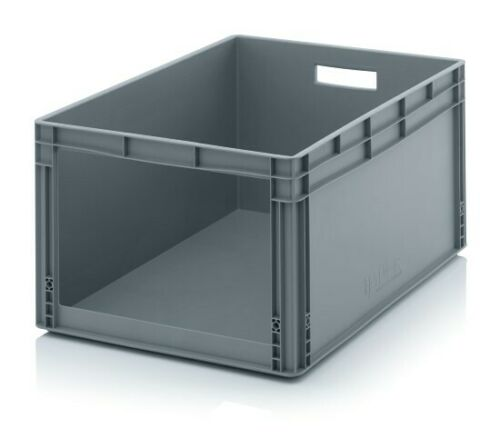 Lagerbehälter 80x60x42 mit Fenster *Stapelbehälter*Lagerbox*Eurobox*Stapelbox*