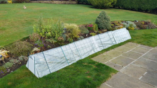 FlexiGro 4m Twinskin cloche garden cloches salad grow fruit veg polytunnel plant