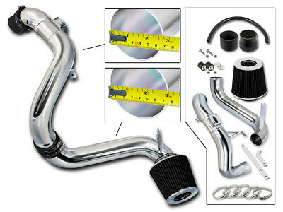 Rtunes Racing Cold Air Intake Kit Filter Combo BLACK Compatible For 06-11 Honda Civic DX//LX//EX
