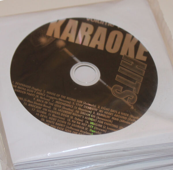 2019 Nieuwe Stijl Karaoke Hits And 2009 Kurrents 33 Cd+g's New Classic,pop,country,oldies