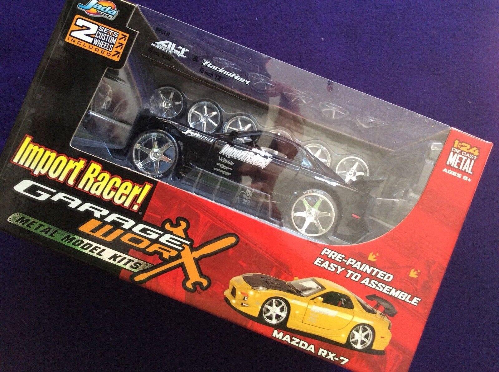 Jada Import Racer  Garage Worx Mazda RX-7 Metal kit