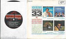 early 1960s LIVING STEREO *RCA Sampler 4 Song EP * SAM COOKE * NEIL SEDAKA w/ PS