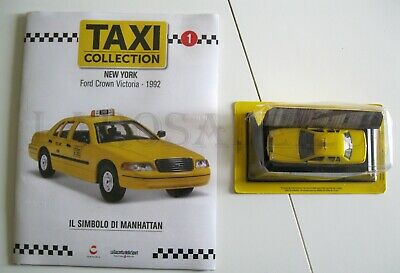 1 Fascicolo Taxi Collection N. 01 Ford Crown Victoria - Centauria - Nuovo Talrijke In Verscheidenheid