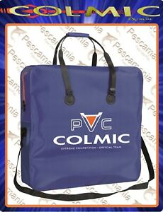 Borsa-portanassa-Colmic-PVC-Puma-quadrato-orange-series-impermeabile-60x60x15cm