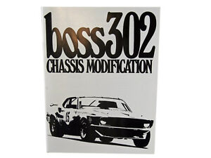 Ford Mustang Boss 302 Chassis Modifications Manual 1969 1970 69 70 Cougar Moffat