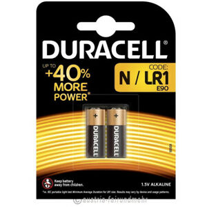 """10x Lady N Security Batterie Mn9100 Lr01 Lr1 Duracell"