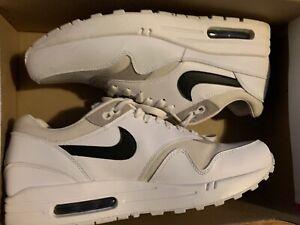 7f1c01a6de41ff Nike Air Max 1 PRM 87 Edition 1987 Phantom Sz 9.5 Mens White Black ...