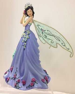 Queen of the Spring Equinox Fairy  Lady Figurine Bradford Exchange