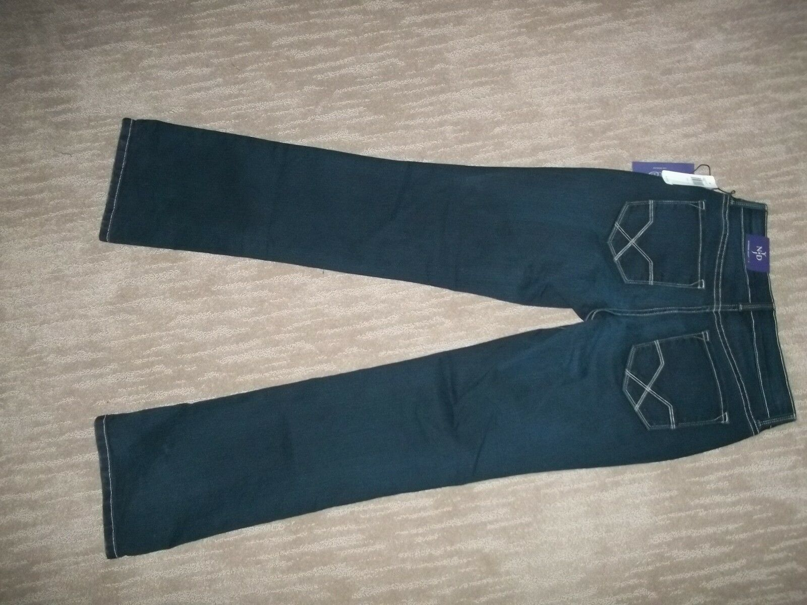 Nydj not your daughters Adelgazar moderno botacut Denim Jeans Jeans Jeans para mujeres talla 0 Nuevo 134799