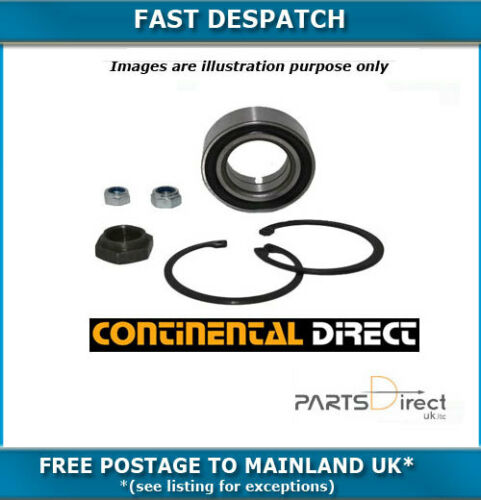FRONT CONTINENTAL WHEEL BEARING KIT FOR PEUGEOT 307 1.6TD 4//2005-781