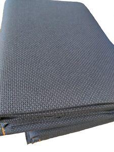 59-034-X-1-Yard-14-count-Navy-blue-Cotton-Aida-Cloth-Cross-Stitch-Fabric