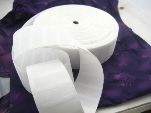 75mm white curtain heading tape ruffle with hook eye curtain head tape 3 INCH