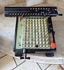 Antique Monroe Mechanical High Speed Adding Machine Calculator 1940's Vintage