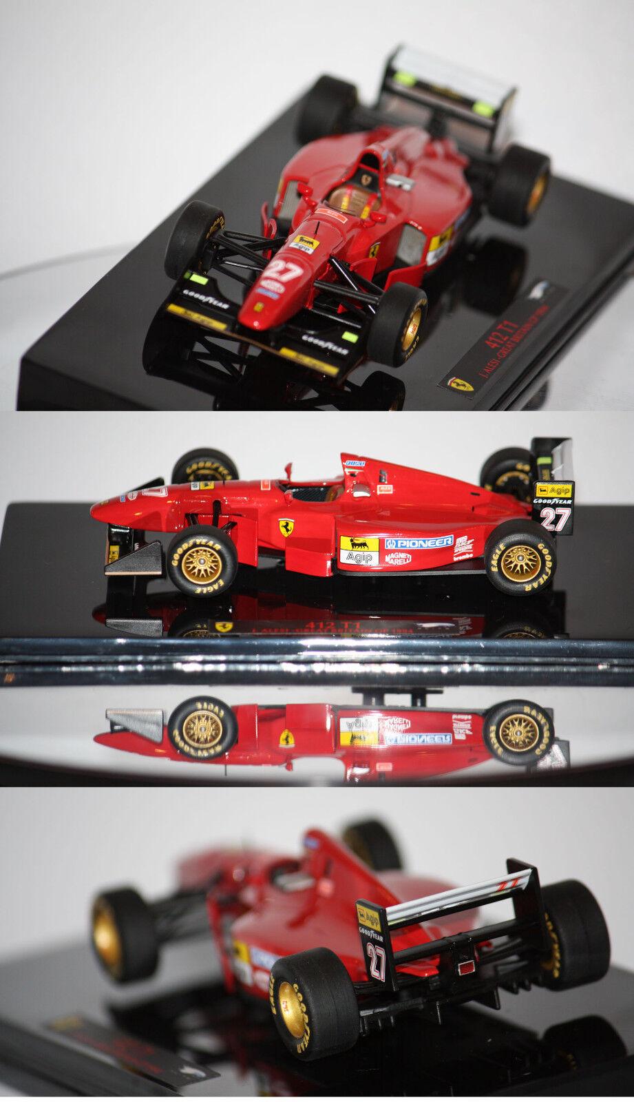 Hotwheels Elite F1 Ferrari 412 T1 J. Alesi 1994 1 43 T6284