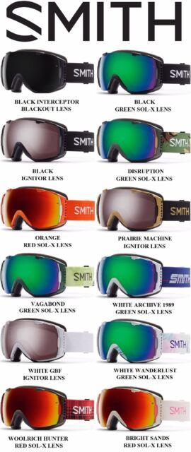 2016 Smith Optics I/O Snowboard / Ski Goggles, Many Colors, Brand NEW! SALE!