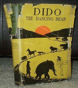 SCARCE-1916-1ST-EDITION-HCDJ-DIDO-THE-DANCING-BEAR-BY-RICHARD-BARNUM