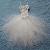 Brautkleid 10 Cm Federn Weiß Hochzeit Hochzeit Scrapbooking