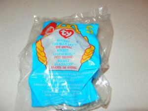 MCDONALDS HAPPY MEAL TOY- 1999 - TY-  STRETCHY THE OSTRICH  -  10 ... 8862e2418dc4
