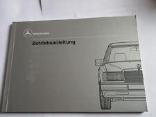 Betriebsanleitung Benz W124 Diesel Bedienungsanleitung Anleitung Handbuch manual
