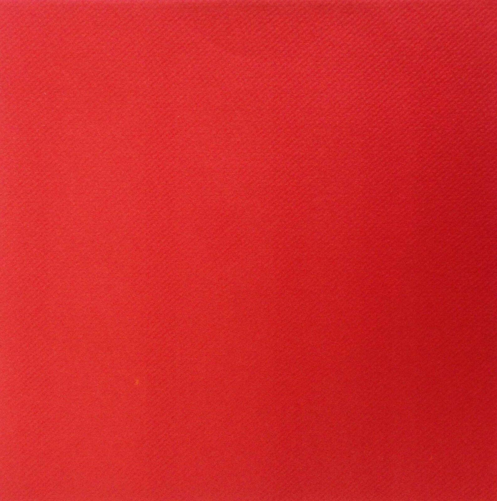 500 x Rouge tablin Toison Papier Premium serviettes 40 cm Lin Feel Serviettes
