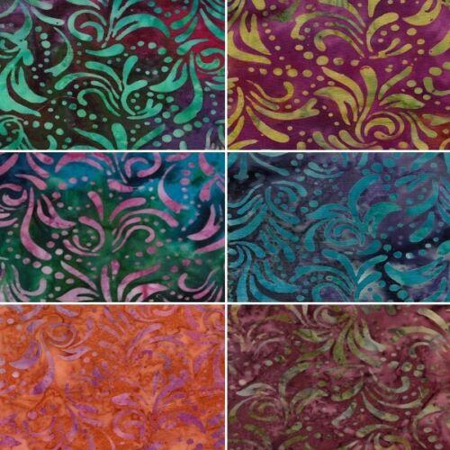 Rainforest paradise laisse des taches batik 100/% tissu de coton ff