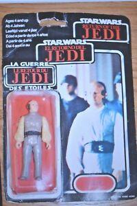 1983 Star Wars Return Of The Jedi Lobot; Trilogo; Opened Original Card