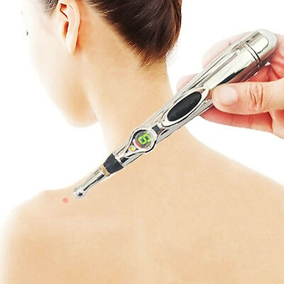 Pain Relief Therapy Pen Electronic Acupuncture Safe Meridian Energy Heal Massage