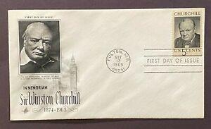 US 1264 Sir Winston Churchill Britain UK World War Peace Europe 1965 Fulton MO