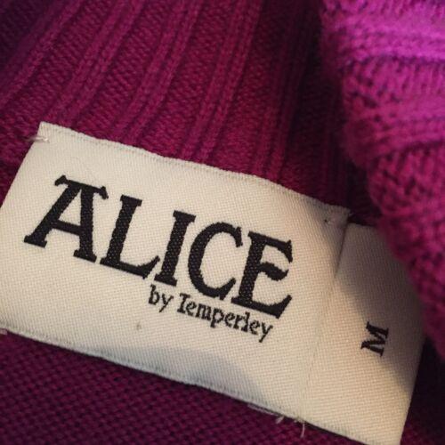M Temperley Marie Violet portée By Jamais Tricot Cape Alice Taille pinky EY4Pw5xx
