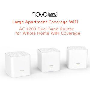 1-2-3pcs-Tenda-Nova-Mw3-Wireless-Wifi-Router-Whole-Home-Mesh-Wifi-System