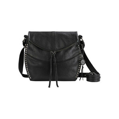 NEW The Sak Silverlake Flap Over Crossbody Bag Black